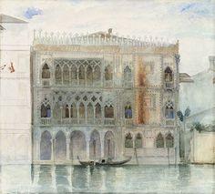Frederic Leighton - Ca d'Oro, Venice