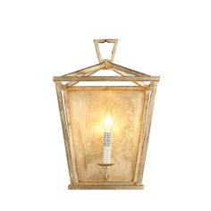Cast a warm glow in your parlor or guest suite with this stylish sconce, featuring an open frame with a mirrored back.Features: