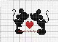 Modern Cross Stitch Patterns, Bead Loom Patterns, Beading Patterns, Cross Stitch For Kids, Cross Stitch Boards, Pixel Art Templates, Stitch Cartoon, Layette, Cross Stitching
