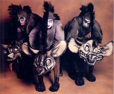 The Original Broadway cast of Disney's: The Lion King - The Hyenas: Ed, Shenzi, & Banzai