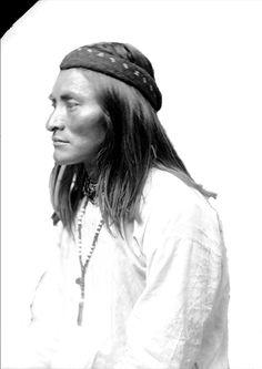 Be-da-zis-shu or Dutchy - Chiricahua Apache, 1886