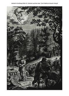 Abraham in the Bowyer Bible 121. Abraham sacrifices Isaac. Tyroff. Medhurst-Kossuth-Vere on Flickr.Abraham in the Bowyer Bible 121. Abraham sacrifices Isaac. Tyroff. Medhurst-Kossuth-Vere
