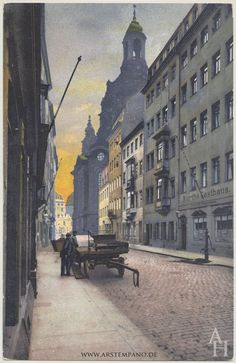 Streets & Alleys of Dresden – Arstempano – Kate Slim – Join the world of pin Dresden Germany, Background Drawing, Dieselpunk, Celtic, History, World, City, Places, Calendar 2020