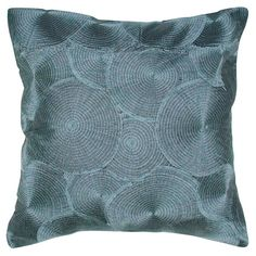 I pinned this Brigitte Pillow in Gray from the Neroli Home event at Joss and Main!