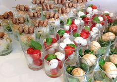 #fingerfood #partyfood #caprese #eggs