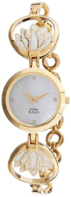 Titan Raga Analog Mother of Pearl Dial Women's Watch- 2540YM01 #Titan #Raga #Analog #Mother #of #Pearl #Dial #Women's #Watch #2540YM01 Price: INR 5,995.00 -------------------------------------- Sale: INR 4,495.00  --------------------------------------
