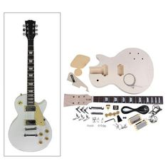 DIY Electric Guitar Kit Set (LP style) $135.90+ USD
