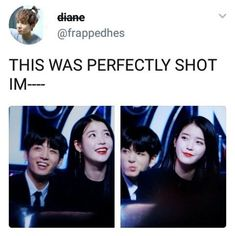 This has to do with both jungkook and my QUUEEEEEEEEEN IU so it goes on the kpop board. Honestly, I wish to be friends with jungkook 1. Because he's jungkook 2. We can fangirl/fanboy to IU together