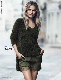 Natasha Poly for H&M Fall 2014