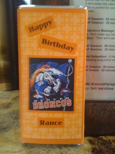 Candy Bar - HB Broncos