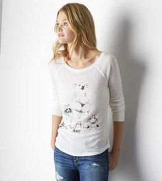 AEO Thermal Graphic T-Shirt - Buy One Get One 50% Off $19.99 BOGO