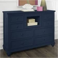 Riverside Furniture Splash of Color Entertainment Dresser in Navy Blue. This is what I've been wanting to do with our bedroom furniture! Furniture, Redo Furniture, Navy Blue Dresser, Riverside Furniture, Navy Furniture, Blue Dresser, Home Decor, Furniture Rehab, Blue Painted Furniture