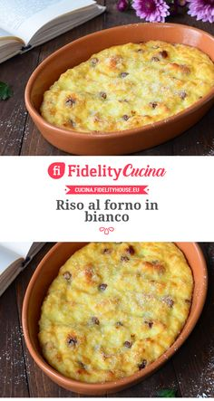 Riso al forno in bianco food menu Italian Food Menu, Italian Cookie Recipes, Greek Recipes, Desert Recipes, Italian Meals, Tasty, Yummy Food, Vegan Dishes, Sin Gluten