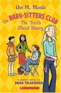The Baby-Sitters Club: The Truth About Stacey by Raina Telgemeier, http://www.amazon.com/dp/0439739365/ref=cm_sw_r_pi_dp_MRUKrb1AB5FCS