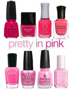 We Love...Spring's Pink Shades