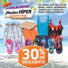 ¡Compras de última hora para tus vacaciones! En Soriana Híper encuentra lo que necesitas para tu viaje a la playa.