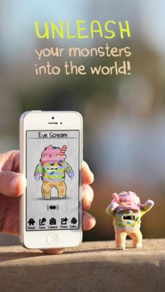 3D print your personalize Monsters from an app #3dPrinteresting #3dPrinting