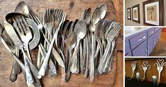 Kreatívne a užitočné nápady, návody, tipy a triky ako premeniť staré príbory - lyžice, lyžičky, vidličky a nože na praktické doplnky, dekorácie do bytu domu