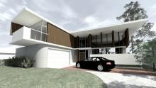 Mountford Architects Project, Perth. One of our houses just about to finish