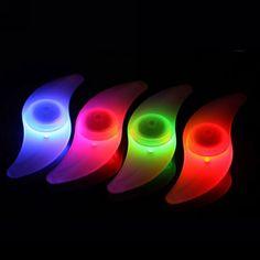 LED Bicycle Wheel Bright Lights Spoke Tire Rim Flashing Lights Blue