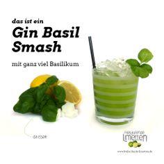 das ist der Gin Bail Smash von freilaufende Limetten - mit Hut ab vor den Erfindern in der Hamburger Lion's Bar