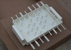 pocket foosball babyfoot fichier 3D cults impression 3D 3D printed 3D printing