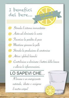 Come iniziare al meglio la giornata? - #lemon lime limone benefici proprietà ¡;*-*♡_