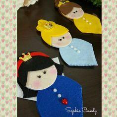 Marca Pagina Princesas Disney    Confeccionamos qualquer tema.