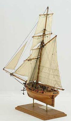 Photos ship model English cutter FLY of 1763, views of entire model Wooden Ship Model Kits, Maritime Museum, Tall Ships, Model Ships, Model Building, Royal Navy, Sailing Ships, English, Boats