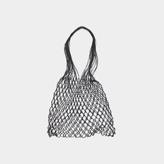 Grocery bag is a hand made bag from linen string. It was woven by hand in a small village of Orneta in Northeastern Poland, a region famous for crafting the hig