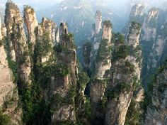 26 Real Places That Look Like They've Been Taken Out Of Fairy Tales,Zhangjiajie National Forest Park, China