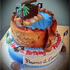 Pirates of the Caribbean Cake II