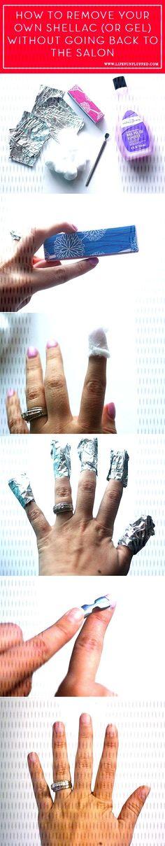 #shellac #remove #polish #nail #home #gel #or #at Remove Shellac or Gel Nail Polish At Home.You can find Remove shellac polish and more on our website.Remove Shellac or Gel Nail Polish At Home. Remove Shellac Polish, Gel Nail Polish, Gel Nails, Website, Gel Nail, Uv Gel Nails
