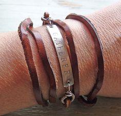 love Nina's work so much :: gatherer wrap bracelet/necklace by nina bagley