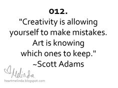 quotes about art and creativity | Drawings, Paintings, Thoughts: A Creative Spot