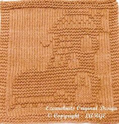 Knitting Cloth Pattern  HOUSE BOOT  Instant by ezcareknits on Etsy, $3.00