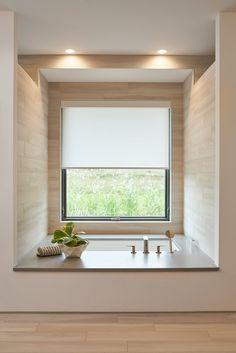 Sunken Bathtub, Built In Bathtub, Bedroom With Bathtub, Master Bathroom, Contemporary Bathtubs, Modern Bathtub, Bathroom Design Inspiration, Bathroom Interior Design, Dream Home Design