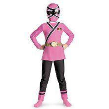 Pink Ranger Samurai Classic Costume – Small (4-6x)