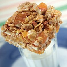 Rainforest Chewy Bars - click here for recipe! #chewybars