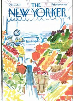 Arthur Getz | The New Yorker Covers
