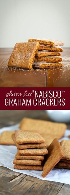 """Gluten Free """"Nabisco"""" Graham Crackers. Just like the """"real thing""""!"""