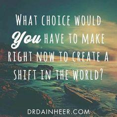 What choice?