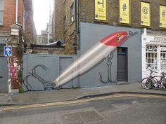 New Ampparito Street Art In London. London Art, Street Artists, Urban Art, Spanish, Park, World, Fun, Travel, City Art