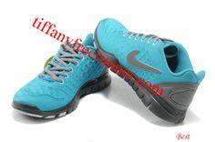 Nike Free TR Fit 2 Shield Womens Chlorine Blue Dark Grey 469767 001 [Tiffany Free Runner 1115] - $54.69