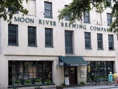 Moon River Brewing Company in Savannah, GA - Famous for paranormal activity, with many investigative teams coming through these doors....