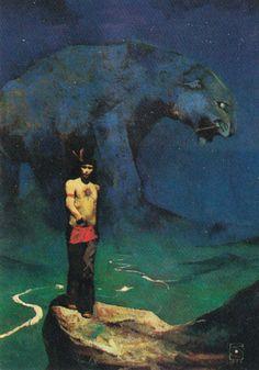 of Fantasy Jeffrey Catherine Jones Art Science Fiction, Jeff Jones, John Howe, 70s Sci Fi Art, Horror Artwork, Traditional Paintings, Fantasy Illustration, Fantastic Art, Illustrations