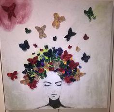 farfalle di stoffa