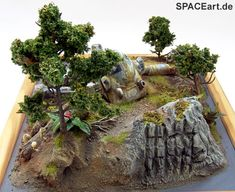 SF3D Maschinenkrieger: Deluxe Diorama, Finished model (Picture 8)