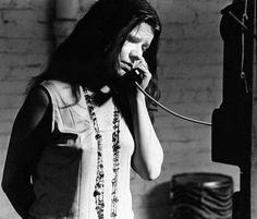 Janis in a phone conversation