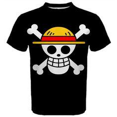 One Piece, Shirt, Anime, Manga, T-Shirt, White, Black, Red, Cosplay, Anime Shirt, Men's Shirt, TShirt, Gift, Kawaii, Luffy, Nami, Zoro, Cute